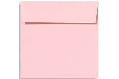 LUX 5 1/2 x 5 1/2 Square Envelopes 500/Box) 500/Box, Candy Pink (EX8515-14-500)