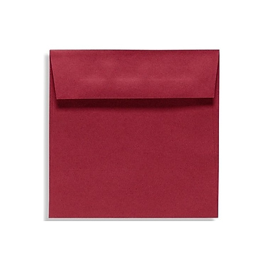 LUX 5 1/2 x 5 1/2 Square Envelopes 50/Box) 50/Box, Garnet (EX8515-26-50)