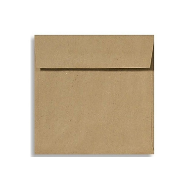 LUX 5 1/2 x 5 1/2 Square Envelopes 50/Box) 50/Box, Grocery Bag (8515-GB-50)