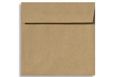 LUX 5 1/2 x 5 1/2 Square Envelopes 50/Box) 50/Box, Grocery Bag (8515-GB-50)