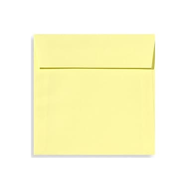 LUX 5 1/2 x 5 1/2 Square Envelopes 250/Box) 250/Box, Lemonade (EX8515-15-250)