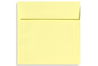 LUX 5 1/2 x 5 1/2 Square Envelopes 50/Box) 50/Box, Lemonade (EX8515-15-50)