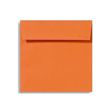 LUX 5 1/2 x 5 1/2 Square Envelopes, Mandarin, 50/Box (EX8515-11-50)