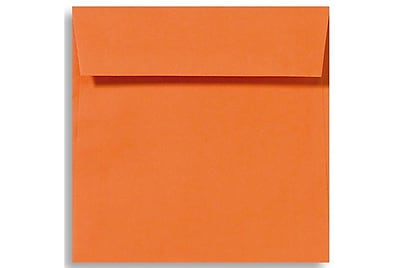 LUX 5 1/2 x 5 1/2 Square Envelopes 250/Box) 250/Box, Mandarin (EX8515-11-250)