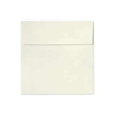 LUX 5 1/2 x 5 1/2 Square Envelopes 500/Box) 500/Box, Natural Linen (8515-NLI-500)