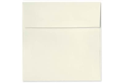 LUX 5 1/2 x 5 1/2 Square Envelopes 1000/Box) 1000/Box, Natural Linen (8515-NLI-1000)