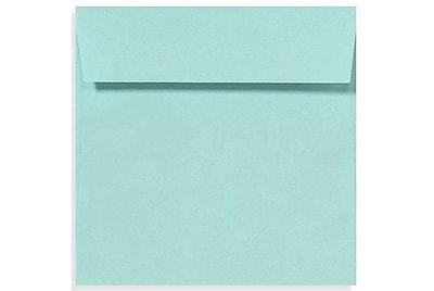 LUX 5 1/2 x 5 1/2 Square Envelopes 50/Box) 50/Box, Seafoam (LUX-8515-113-50)