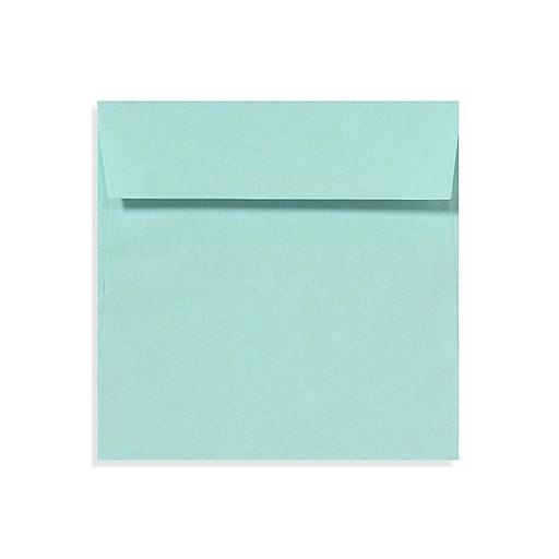 LUX 6 1/2 x 6 1/2 Square Envelopes 50/Box) 50/Box, Seafoam (LUX-8535-113-50)