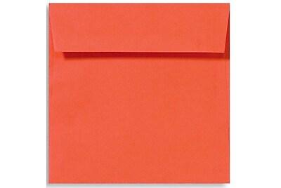 LUX 5 1/2 x 5 1/2 Square Envelopes 500/Box) 500/Box, Tangerine (LUX-8515-112500)