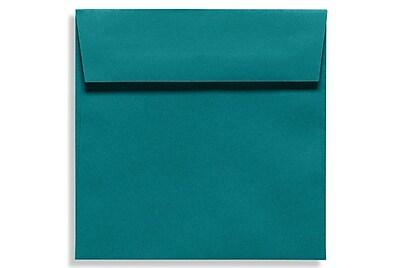 LUX 5 1/2 x 5 1/2 Square Envelopes 50/Box) 50/Box, Teal (EX8515-25-50)