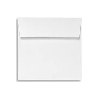LUX 5 1/2 x 5 1/2 Square Envelopes 250/Box) 250/Box, White - 100% Recycled (8515-WPC-250)