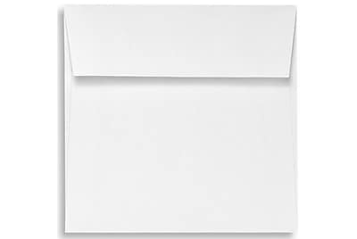 LUX 5 1/2 x 5 1/2 Square Envelopes 1000/Box) 1000/Box, White - 100% Recycled (8515-WPC-1000)