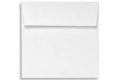 LUX 5 1/2 x 5 1/2 Square Envelopes 50/Box) 50/Box, White - 100% Recycled (8515-WPC-50)