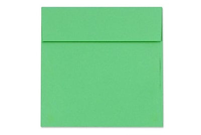 LUX 6 1/2 x 6 1/2 Square Envelopes 500/Box) 500/Box, Holiday Green (8535-12-500)