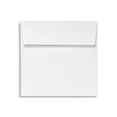 LUX 5 x 5 Square Envelopes 50/Box, Bright White - 100% Cotton (8505-SW-50)