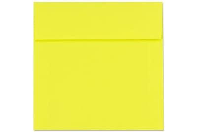 LUX 5 x 5 Square Envelopes 50/Box) 50/Box, Citrus (8505-20-50)