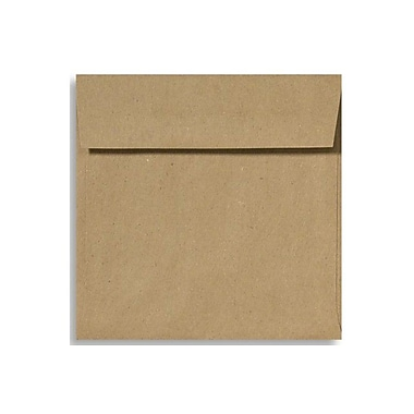 LUX 5 x 5 Square Envelopes 50/Box) 50/Box, Grocery Bag (8505-GB-50)