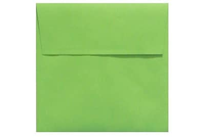 LUX 5 x 5 Square Envelopes 50/Box) 50/Box, Limelight (LUX-8505-101-50)