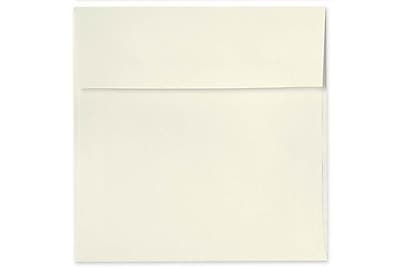 LUX 5 x 5 Square Envelopes 50/Box) 50/Box, Natural - 100% Recycled (8505-NPC-50)