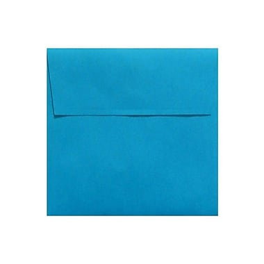 LUX 5 x 5 Square Envelopes, Pool, 50/Box (LUX-8505-102-50)