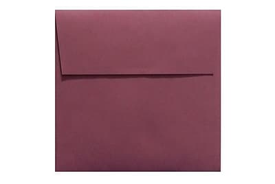 LUX 5 x 5 Square Envelopes 500/Box) 500/Box, Vintage Plum (LUX-8505-104500)