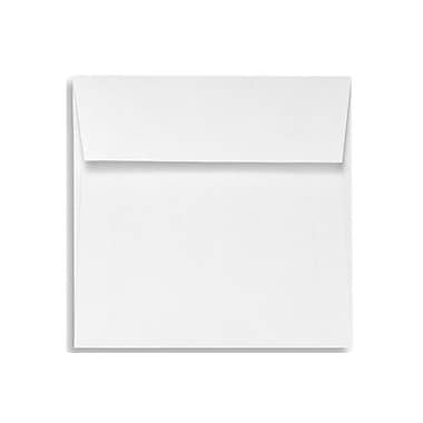 LUX 5 x 5 Square Envelopes 50/Box) 50/Box, White - 100% Recycled (8505-WPC-50)