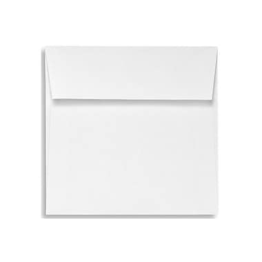 LUX 5 x 5 Square Envelopes 250/Box) 250/Box, White Linen (8505-WLI-250)