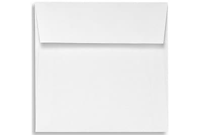 LUX 5 x 5 Square Envelopes 1000/Box) 1000/Box, White Linen (8505-WLI-1000)