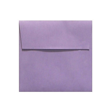 LUX 5 x 5 Square Envelopes 50/Box) 50/Box, Wisteria (LUX-8505-106-50)