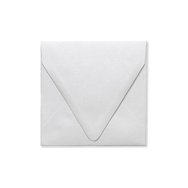 LUX ? Enveloppes carrées à rabat, 5 x 5, cristal métallique