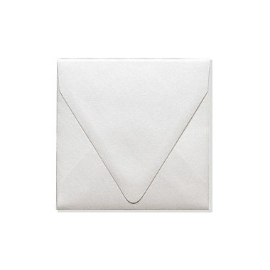 LUX 5 x 5 Square Contour Flap Envelopes 50/Box) 50/Box, Quartz Metallic (1840-08-50)