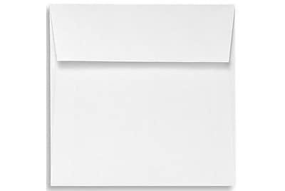 LUX 6 1/2 x 6 1/2 Square Envelopes 1000/Box) 1000/Box, 70lb. Bright White (10928-1000)
