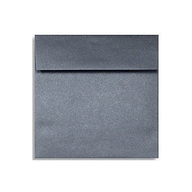 LUX 6 1/2 x 6 1/2 Square Envelopes 50/Box) 50/Box, Anthracite Metallic (M8535-15-50)