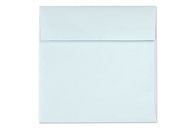 LUX 6 1/2 x 6 1/2 Square Envelopes 250/Box) 250/Box, Aquamarine Metallic (8535-02-250)