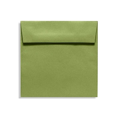 LUX 6 1/2 x 6 1/2 Square Envelopes, Avocado