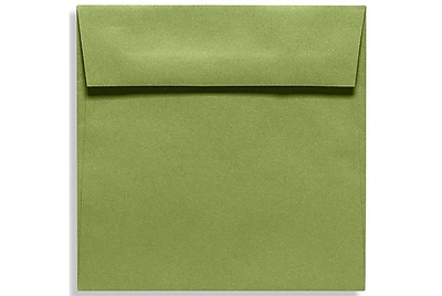 LUX 6 1/2 x 6 1/2 Square Envelopes 50/Box) 50/Box, Avocado (EX8535-27-50)