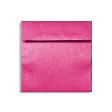 LUX 6 1/2 x 6 1/2 Square Envelopes 50/Box) 50/Box, Azalea Metallic (8535-24-50)