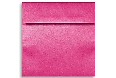 LUX 6 1/2 x 6 1/2 Square Envelopes 250/Box) 250/Box, Azalea Metallic (8535-24-250)