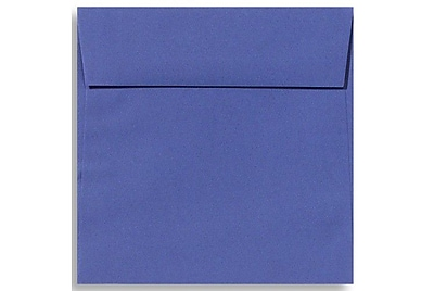 LUX 6 1/2 x 6 1/2 Square Envelopes 50/Box) 50/Box, Boardwalk Blue (EX8535-23-50)