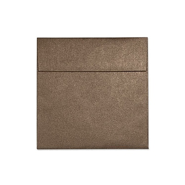 LUX 6 1/2 x 6 1/2 Square Envelopes 50/Box) 50/Box, Bronze Metallic (S8535-12-50)