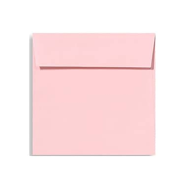 LUX 6 1/2 x 6 1/2 Square Envelopes 50/Box) 50/Box, Candy Pink (EX8535-14-50)