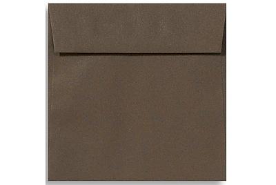 LUX 6 1/2 x 6 1/2 Square Envelopes 250/Box) 250/Box, Chocolate (EX8535-17-250)