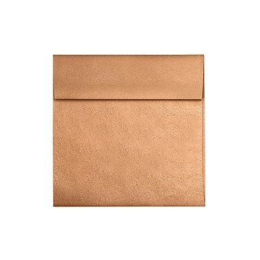 LUX 6 1/2 x 6 1/2 Square Envelopes 250/Box) 250/Box, Copper Metallic (8535-11-250)