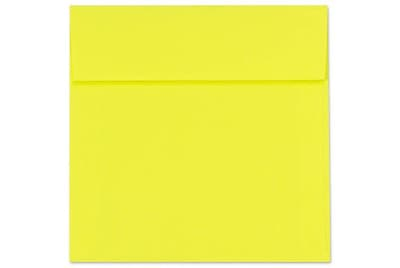 LUX 6 1/2 x 6 1/2 Square Envelopes 1000/Box) 1000/Box, Citrus (FE8535-20-1000)