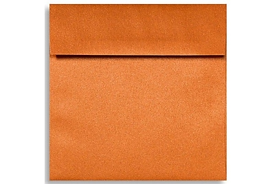 LUX 6 1/2 x 6 1/2 Square Envelopes 500/Box) 500/Box, Flame Metallic (8535-26-500)