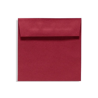 LUX 6 1/2 x 6 1/2 Square Envelopes 500/Box) 500/Box, Garnet (EX8535-26-500)
