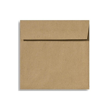 LUX 6 1/2 x 6 1/2 Square Envelopes 250/Box) 250/Box, Grocery Bag (8535-GB-250)