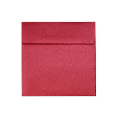 LUX 6 1/2 x 6 1/2 Square Envelopes 50/Box) 50/Box, Jupiter Metallic (8535-20-50)