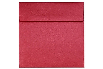 LUX 6 1/2 x 6 1/2 Square Envelopes 1000/Box) 1000/Box, Jupiter Metallic (8535-20-1000)