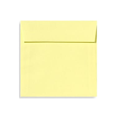 LUX 6 1/2 x 6 1/2 Square Envelopes 1000/Box) 1000/Box, Lemonade (EX8535-15-1000)